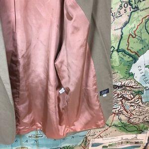 Vintage Jackets & Coats - Vintage Oversized Linen Blend Blazer